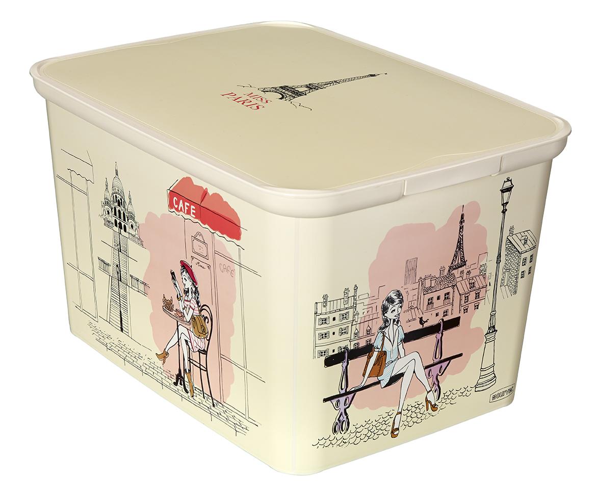 Curver AMSTERDAM S úložný box Miss Paris 04729-M33