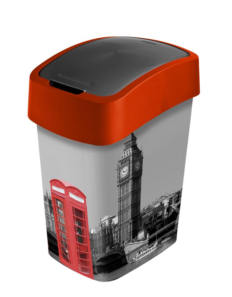 Curver Flipbin odpadkový koš LONDON 25 l 02171-L11