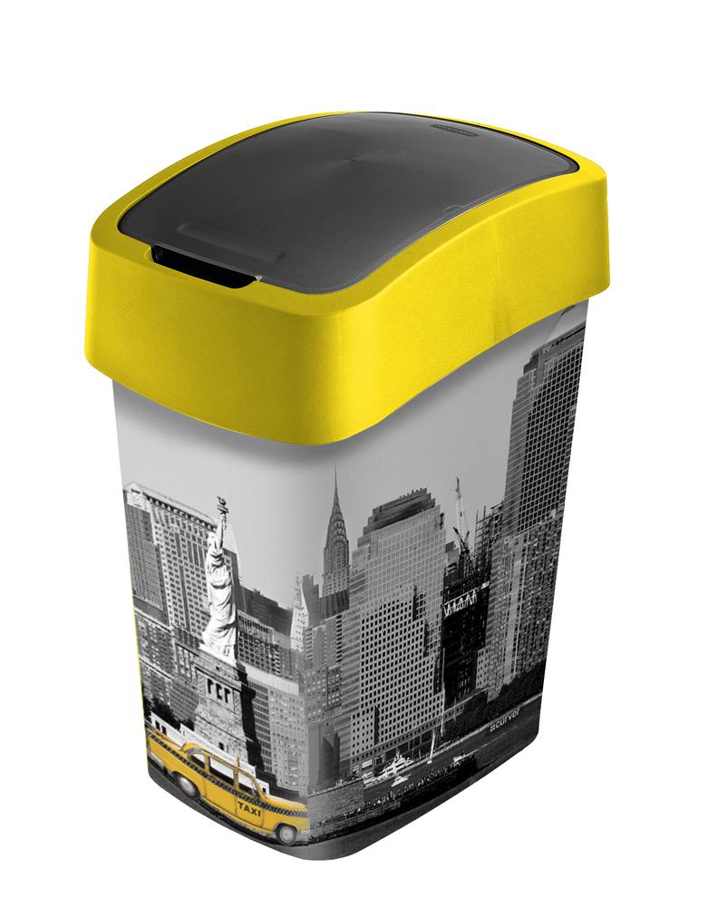 Curver Flipbin odpadkový koš NEW YORK 25 l 02171-N27