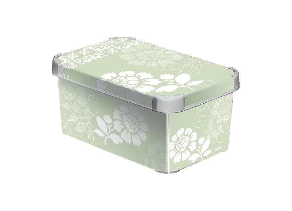 Curver ROMANCE dekorativní úložný box S 04710-D64