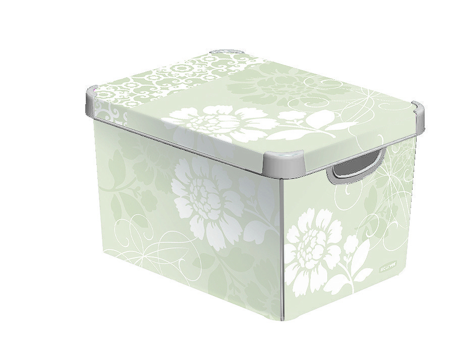 Curver Dekorativní úložný box L - ROMANCE 04711-D64