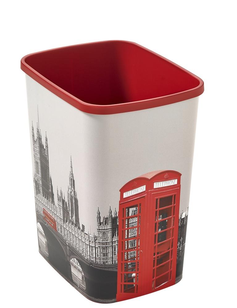 Odpadkový koš Flipbin 25l LONDON bez víka