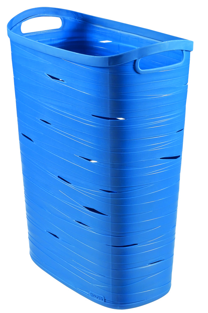 Curver koš na prádlo Ribbon 49 l - modrý 00746-X08