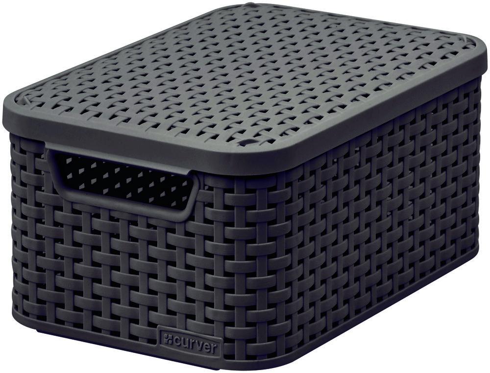 Curver úložný box RATTAN Style2 - hnědá 03617-210