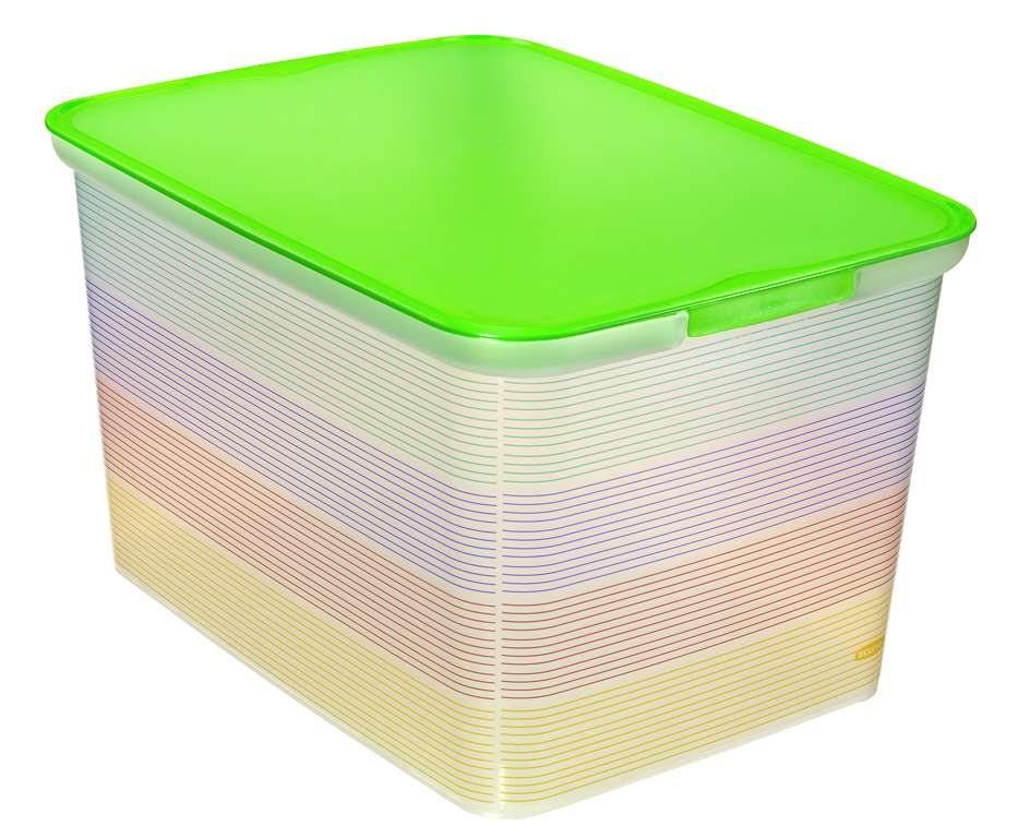 Curver úložný box AMSTERDAM L - Stripes 04730-S29