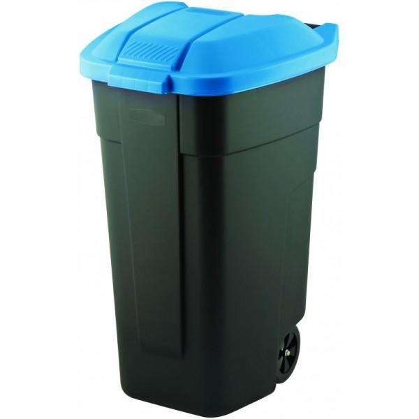 Curver popelnice 110 l modrá 12900-857