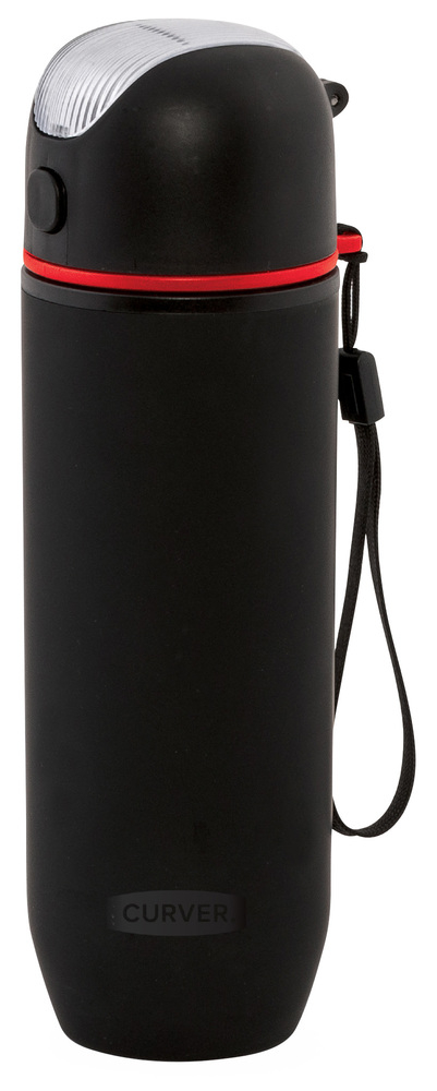 Plastová láhev na nápoje 450ml H0005-BLK