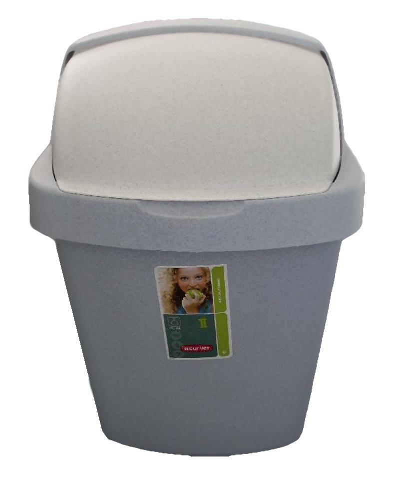 Curver ROLL TOP odpadkový koš 10 l 03974-856