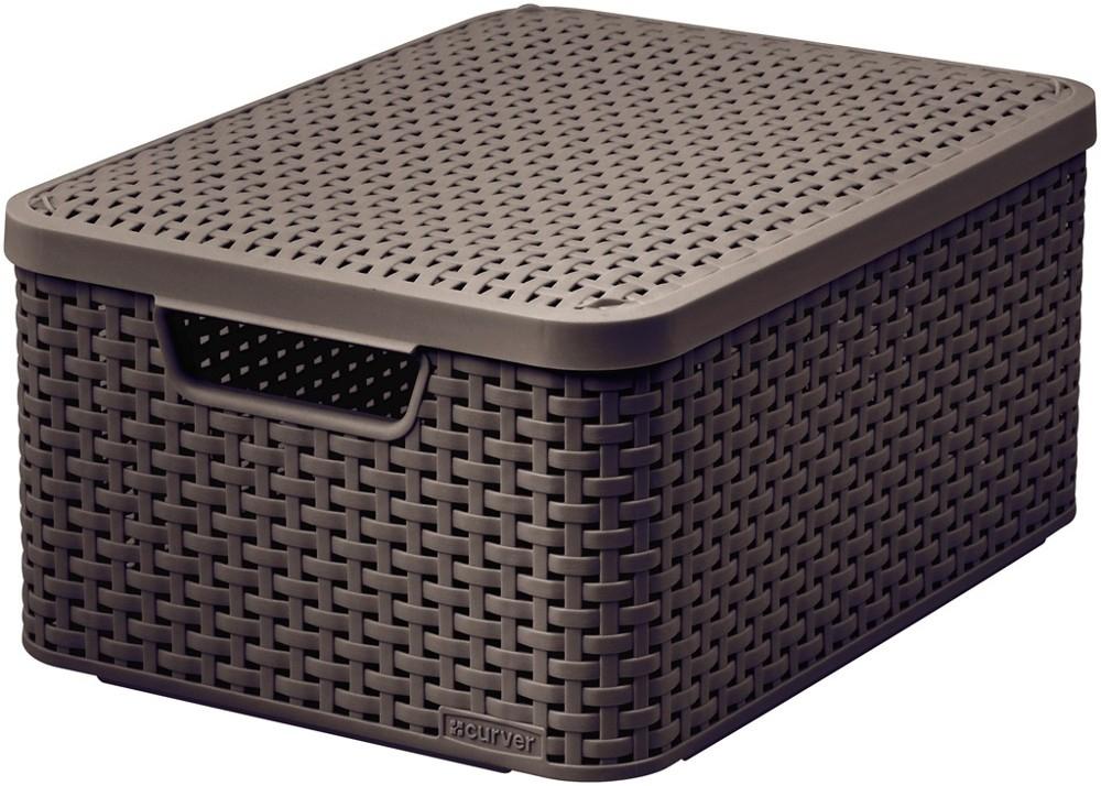 Curver úložný box RATTAN Style2 03618-210
