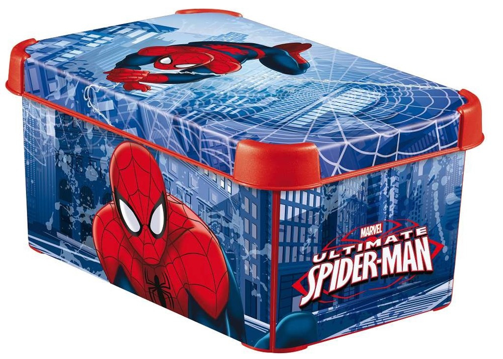 Curver dekorativní úložný box S - SPIDERMAN 04710-S20