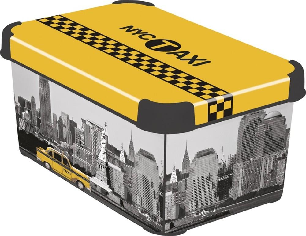 Curver NEW YORK dekorativní úložný box S 04710-D16
