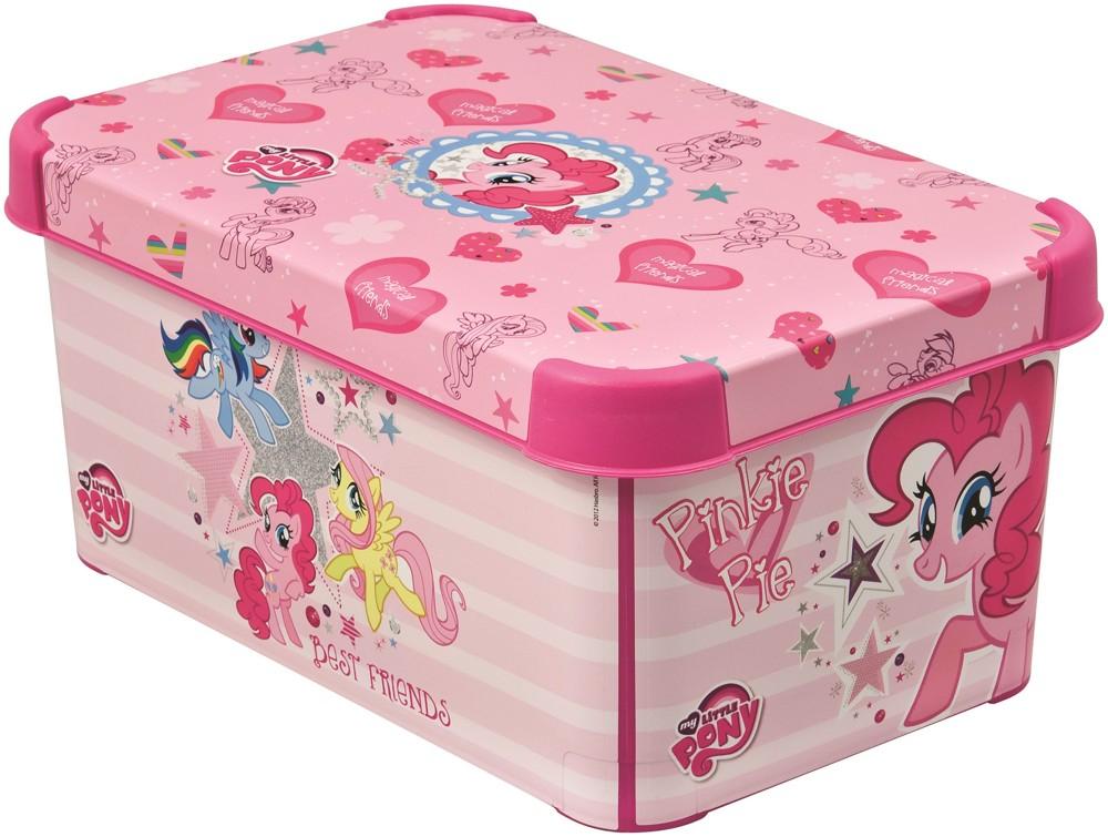 Curver dekorativní úložný box S - MY LITTLE PONY 04710-L15