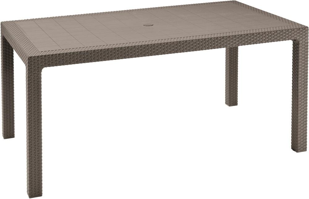 Allibert Zahradní stůl Melody cappucino 211105