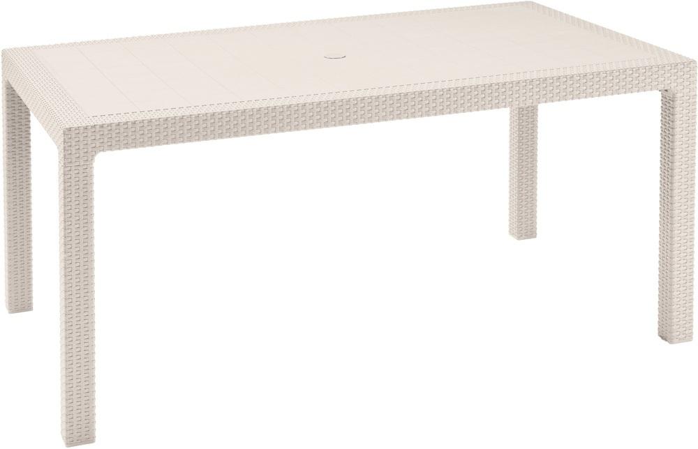 Allibert Zahradní stůl Melody bílý 230666