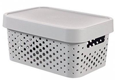 ebbde0b02 Úložný box INFINITY - šedý 04760-099 | curver-shop.cz