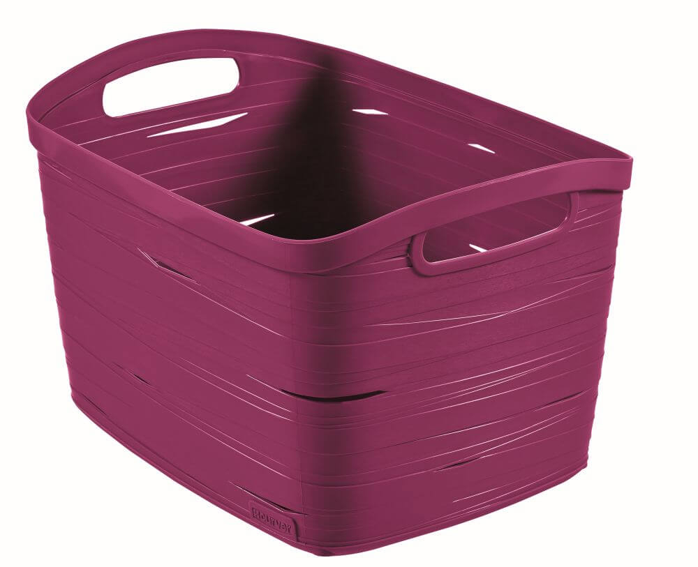 Curver úložný box RIBBON L fialový 00719-437
