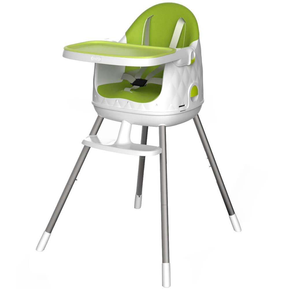 Curver dětská jídelní židlička rostoucí zelená 17198149Z