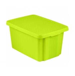 Curver úložný box Essentials - zelený 00756-598