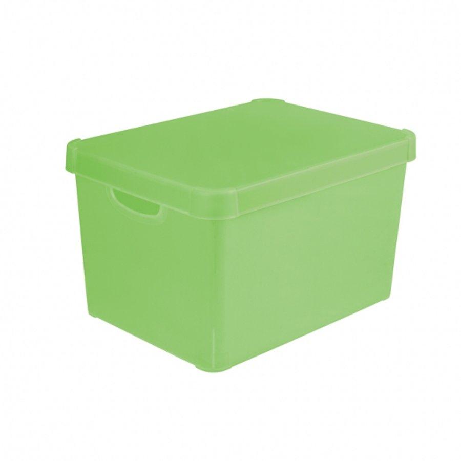 Úložný box STOCKHOLM L - zelená 04711-512